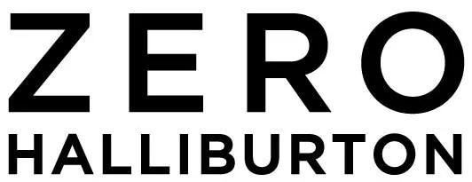 ゼロハリバートンのブランドロゴ