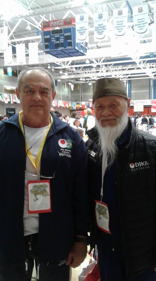 Sensei Gerson Carlos de Almeida e Sense Hideo Ochi (Alemanha)