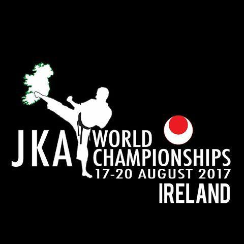 Logo do Campeonato Mundial JKA 2017 - Irlanda