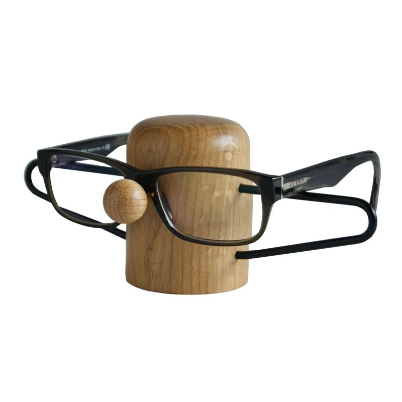 dot aarhus - NOSEY brilleholder i egetræ - Black