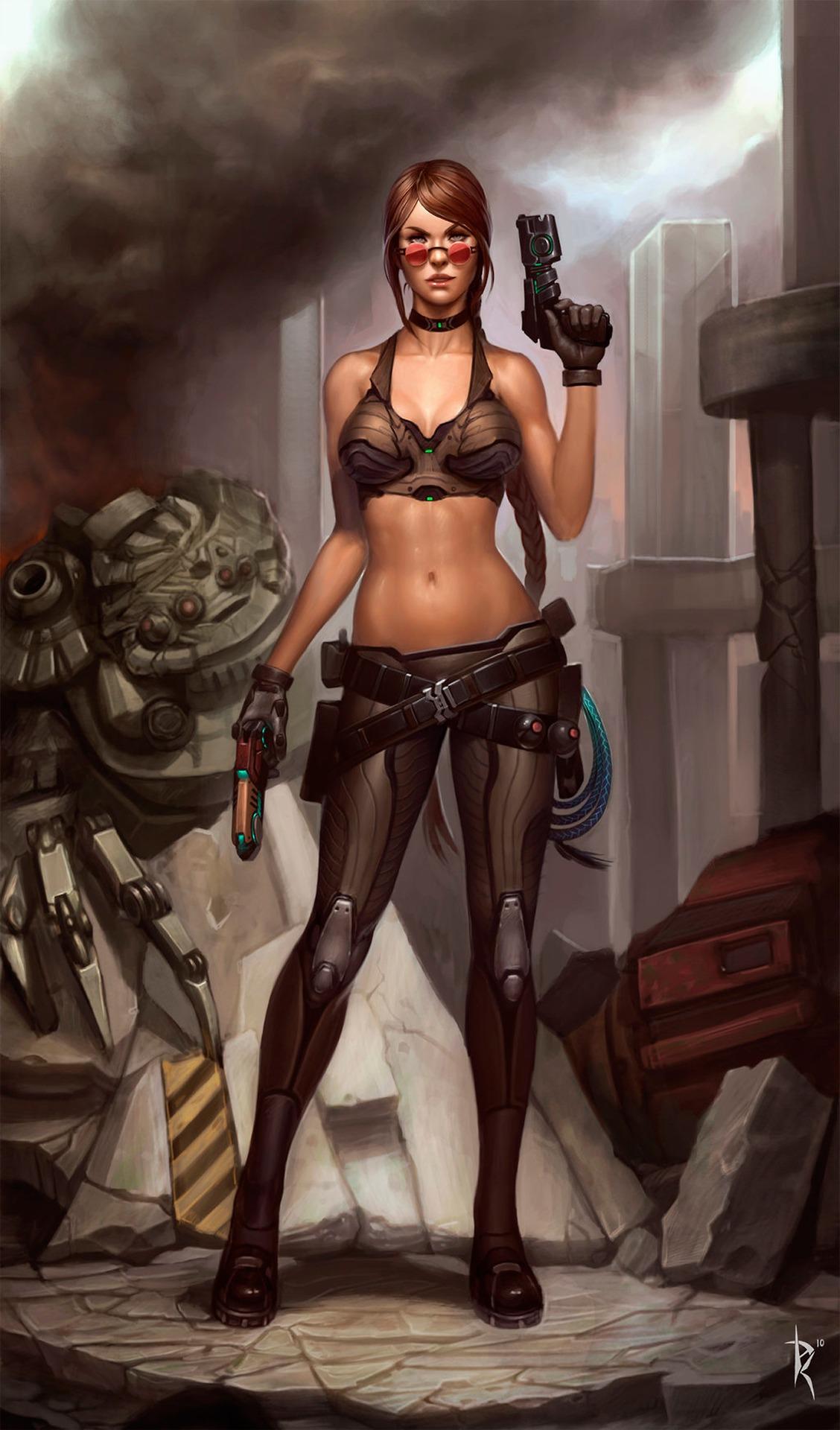 art-красивые-картинки-песочница-красивых-картинок-Lara-Croft-599439