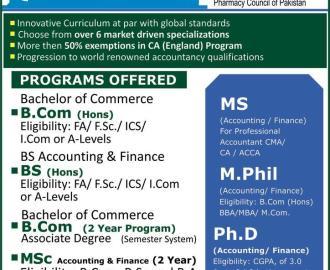 Distance Learning Programs: Punjab University Lahore Distance
