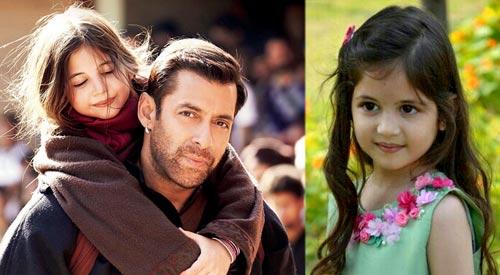 Bajrangi Bhaijaan Harshaali Malhotra Child Girl Actress Bio Mother Family Pictures With Salman 01