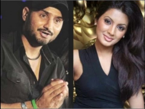 Harbhajan Singh with wife Geeta