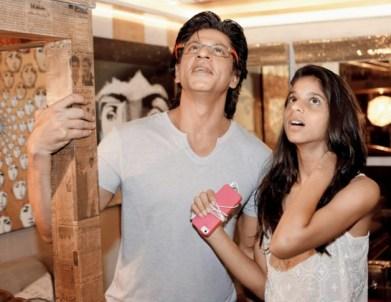 Shahrukh khan With Daughter Suhana Khan