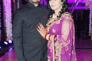 Sunidhi Chauhan Husband pictures on wedding day
