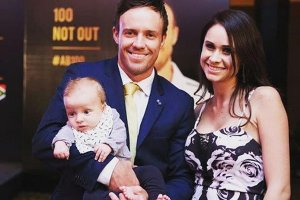 Ab De Villiers Family Pics Wife, Kids