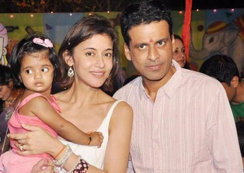 Manoj Bajpai Family Pictures, Wife, Daughter,  Net Worth