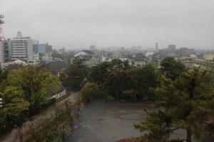 大垣城からの展望