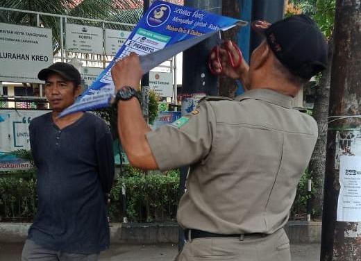 Langgar K3, Panwas Kecamatan Larangan Tertipkan APK