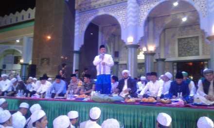 Ribuan Jamaah Hadiri Acara Kota Tangerang Bersolawat