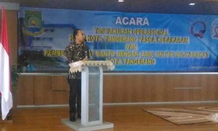 Pasca Kebakaran Februari Lalu, RSUD Kota Tangerang Kembali Beroperasi