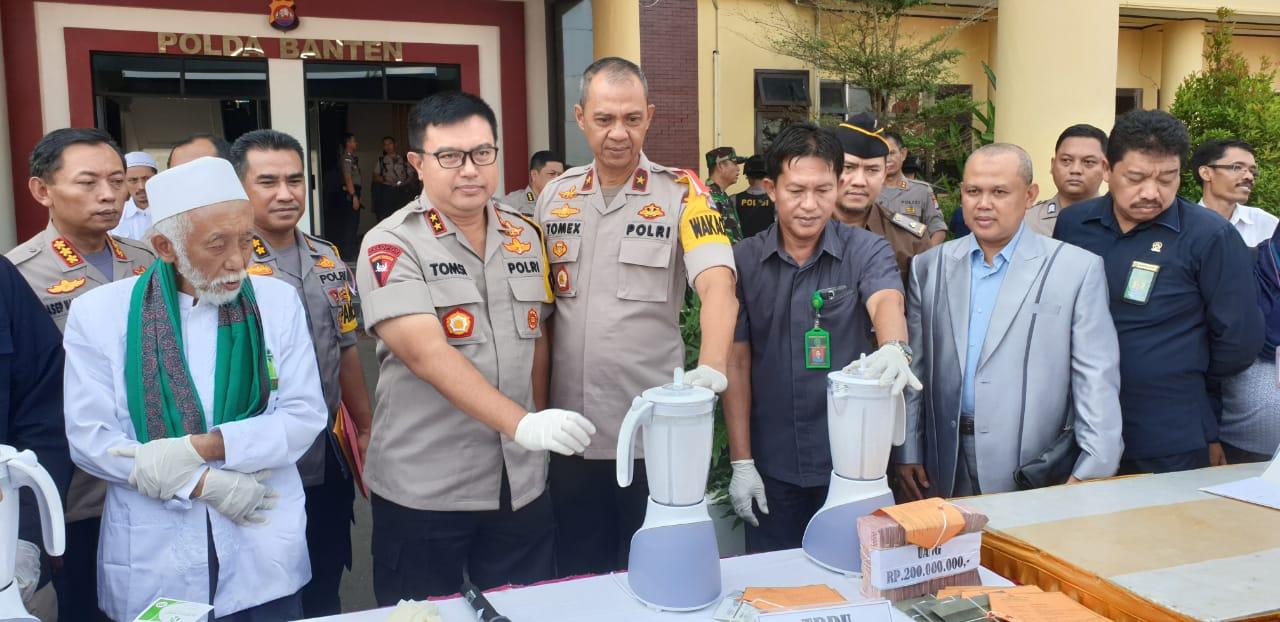 Polda Banten Musnahkan Dua Kilo Gram Sabu