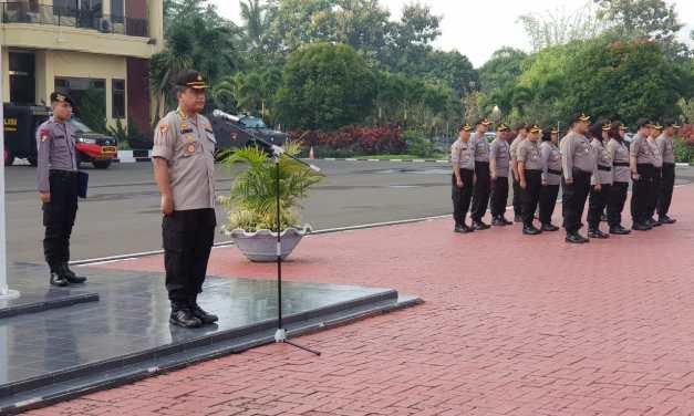 Laksanakan Patroli Gabungan, Polda Banten Siagakan Brimob dan Bataliyon TNI