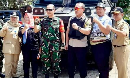 Kapolresta Tangerang Bersama Dandim 0510 Monitoring ke Sejumlah TPS