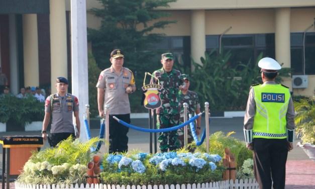 Jelang Sidang MK, Polda Banten Gelar Apel Konsolidasi dan Pengamanan