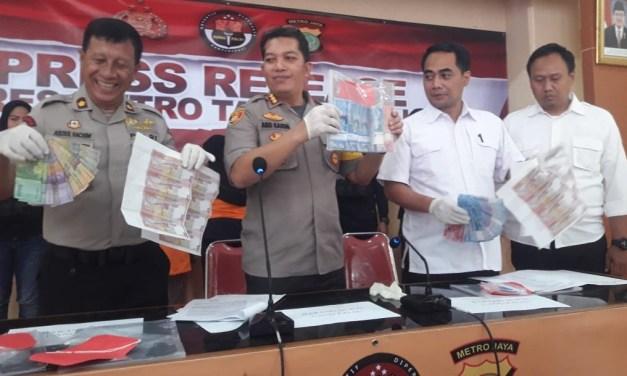 Polrestro Tangerang Kota Tangkap Empat Pelaku Sindikat Pengedar Upal