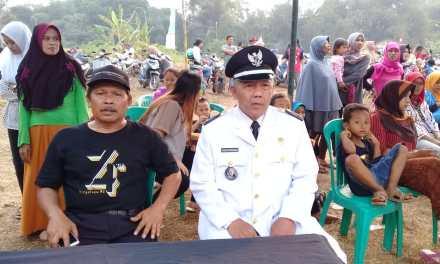 Ada Meriam dan Pesawat Tempur dikemeriahan HUT RI ke-74 dikelurahan Setu Tangerang Selatan