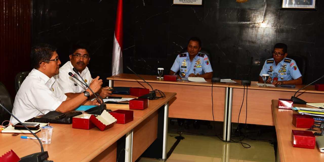 Danlanud Halim Pimpin Rapat Koordinasi KKOP