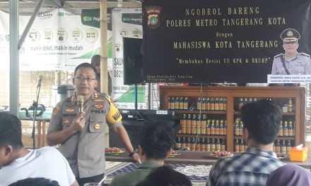 Ketua HMI Kota Tangerang Menilai Pertemuan Yang Digagas Kapolres Positif