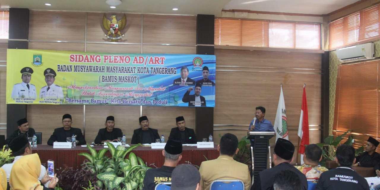 Sidang Pleno AD/ART, Bamus Usung Program Berbasis ITE