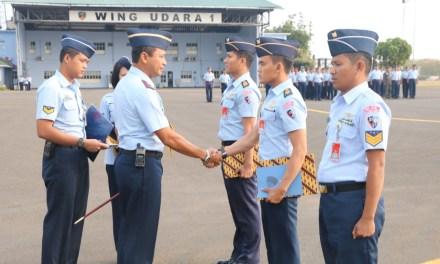 Danlanud Halim Pimpin Apel Khusus di Lapangan Wing Udara I