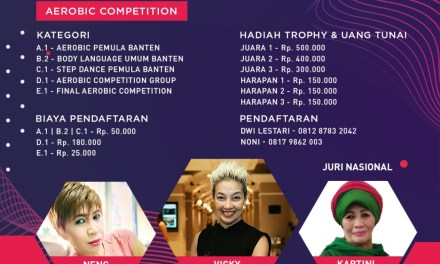 Pemkab Tangerang Dukung Penyelenggraan Aerobic Competition and Zumba Party End of Year Event