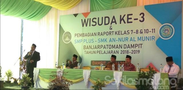 Foto sambutan Kepala Sekolah SMK