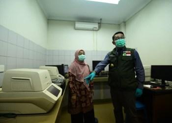 Foyo:  Balai Pengembangan Laboratorium Kesehatan Daerah Provinsi Jabar dengan Biosafety Level 2 (BSL-2) ditunjuk menjadi salah satu laboratorium pemeriksa sampel terduga COVID-19 di Jabar