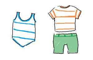 6ヶ月1歳赤ちゃん夏の服装