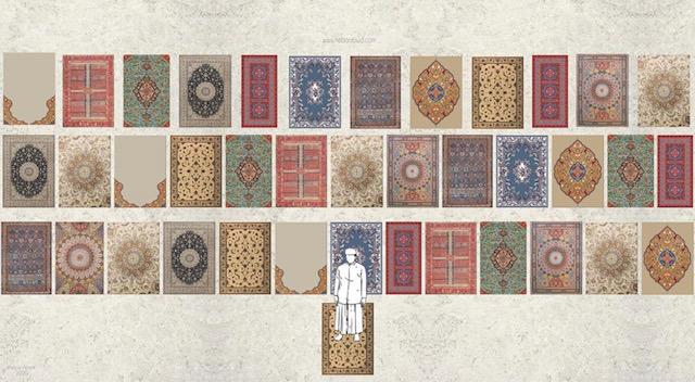<em>Pray In Your Dwelling</em> by Heba Abed, Saudi Arabia.