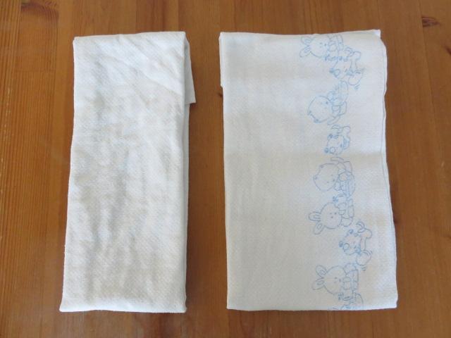 布おむつの使い方折り方