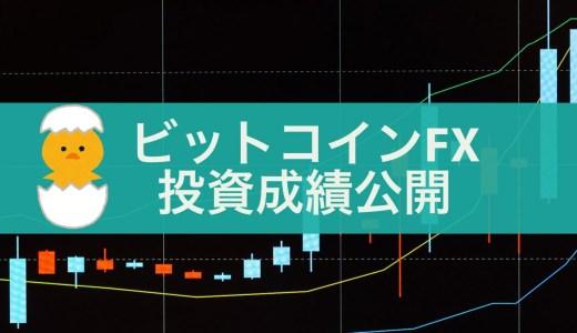 ビットコインFX初心者の投資成績を公開します!