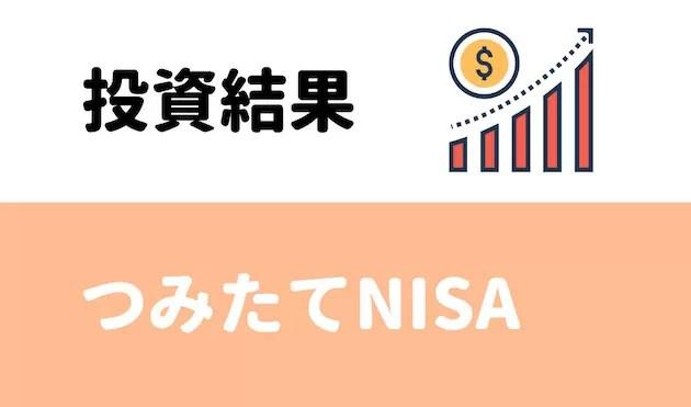 つみたてNISAの投資結果