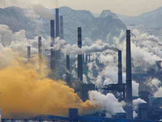 Masalah Lingkungan di China