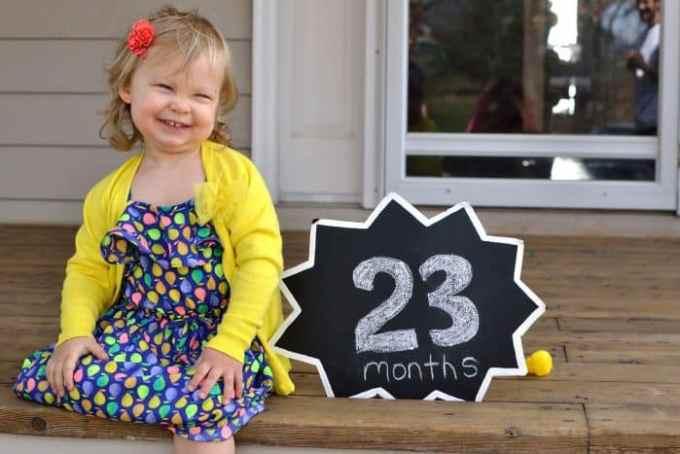 Bayi Usia 23 Bulan