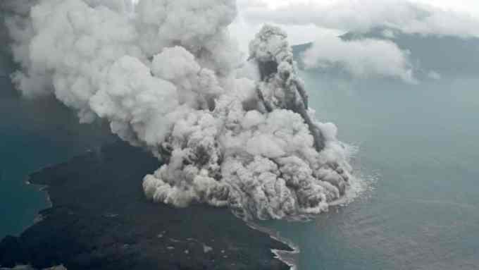 Cerita Rakyat Gunung Krakatau