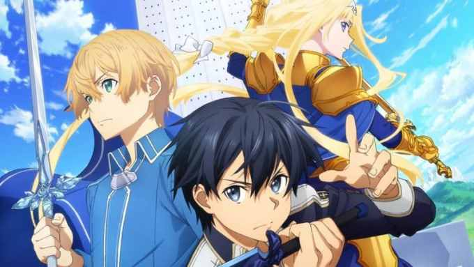 Anime Sword Art Online Alicization