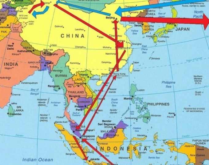 Informasi Geografis Asia