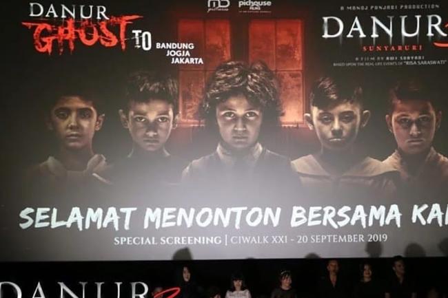 Film Danur 3: Sunyaruri akan hadir di bioskop. (Foto: Instagram/danur_3_sunyaruri)