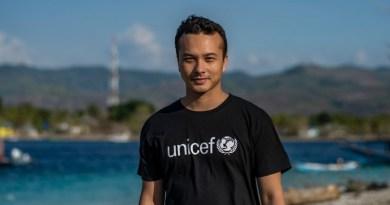 Duta Unicef Indonesia Nicholas Saputra (Unicef Indonesa)