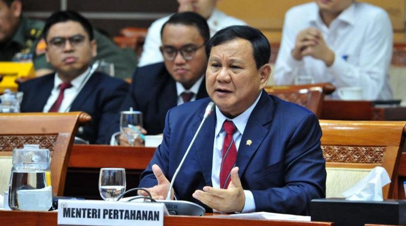 Menhan Prabowo Subianto (Humas kemenhan)