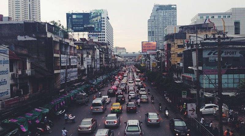 Polusi udara kota besar ( Free-Photos dari Pixabay )