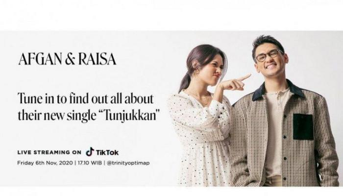 Hari ini, Raisa dan Afgan bakal reuni di TikTok Live