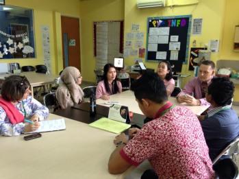 Sekolah Ciputra visit SVP for learing about PYP