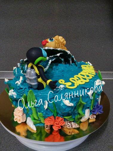 Торт мужчине рыбаку фото