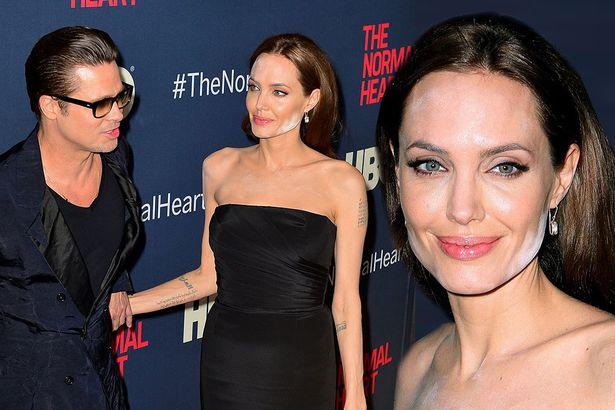 Wpadka makijażowa Angelina Jolie