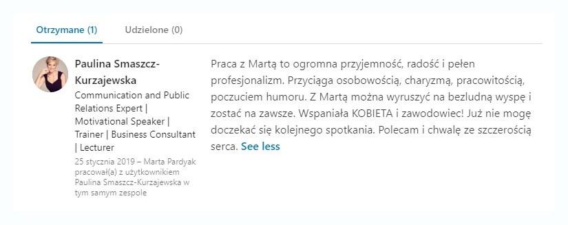 Marta Pardyak blog