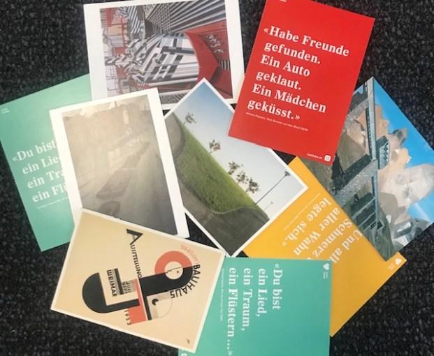 Schreibübung: Postkarte schreiben