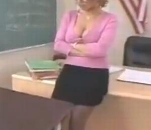 Seks met Lillian, de MILF lerares op de reünie
